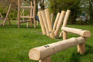 Wooden Robinia Rope Course